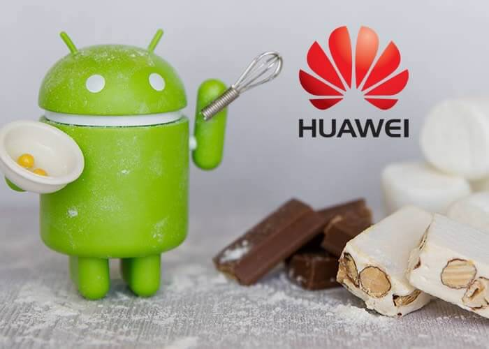 Huawei upgrade to Android 7.0 Nougat