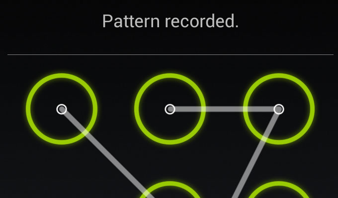 Lock Screen Pattern