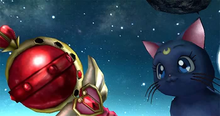 Lunas Cat Sailor Moon