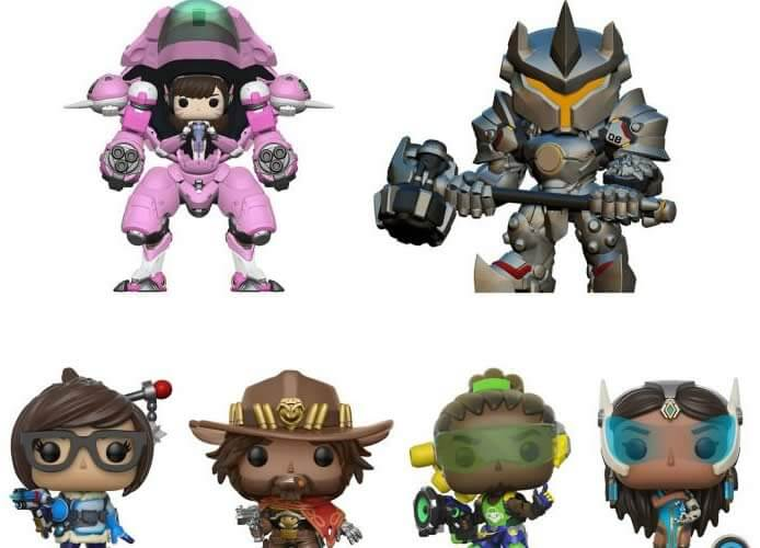 New Funko Faces for Overwatch