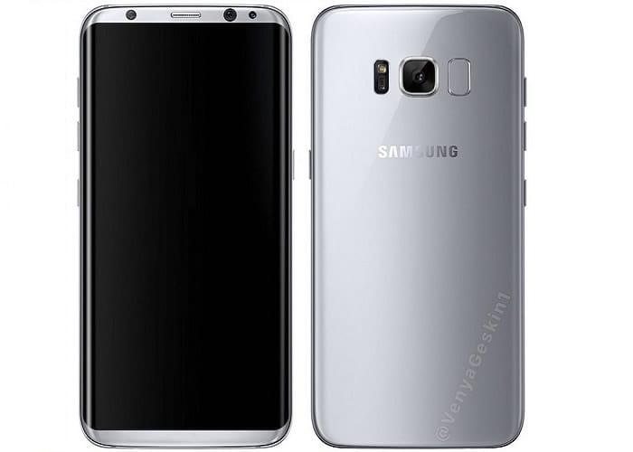 Samsung galaxy s8 real image