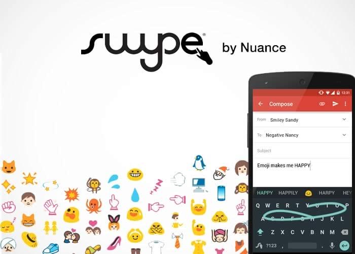 Swype app
