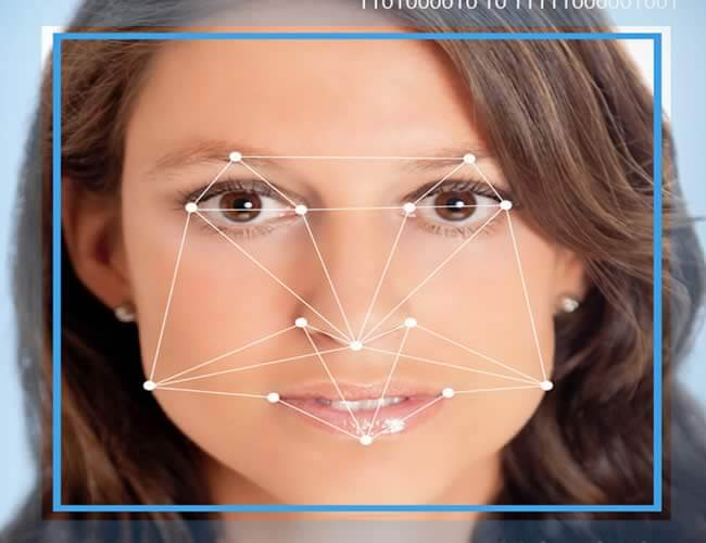 facial recognition in iPhone 8