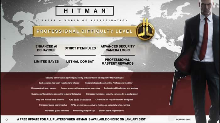 hitman diffuclty level increased