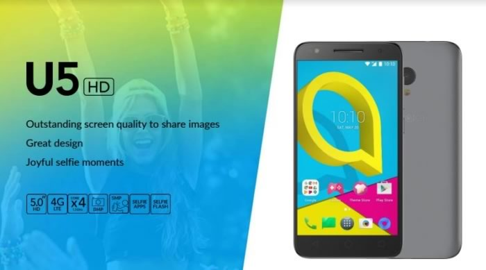 Alcatel-U5 specifications
