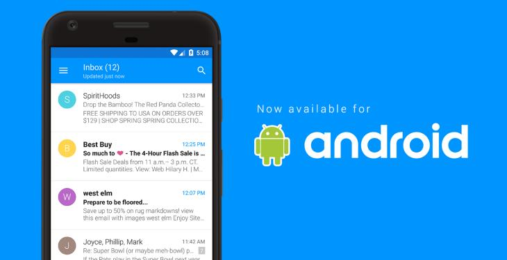 EasilyDo Mail finally reaches the Android platform