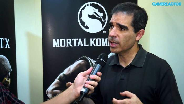 Ed Boon Parent of Mortal Combat