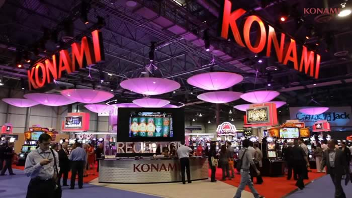 Konami revenues