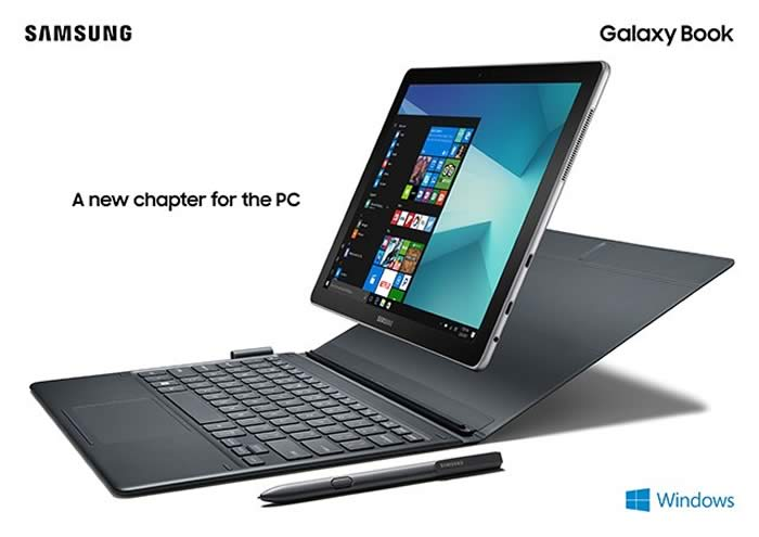 Samsung Galaxy Book 10 and 12 tablets