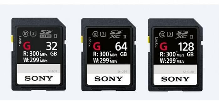 Sony SD Cards