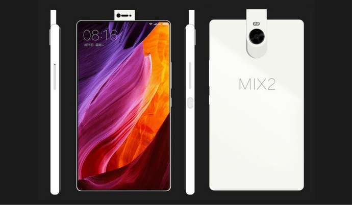 The design of the Xiaomi Mi Mix 2 will take the reduction of the screen edges to the extreme