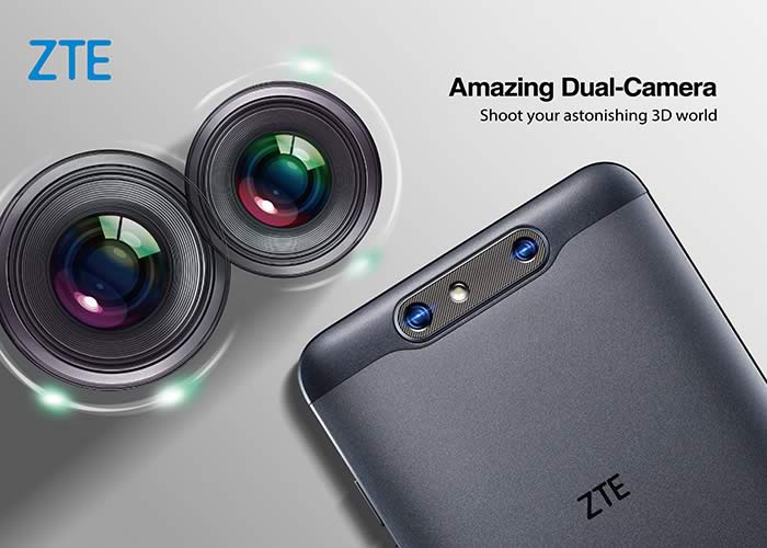 ZTE BLADE V8 3D technology