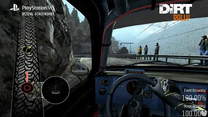 Dirt Rally VR on PS4