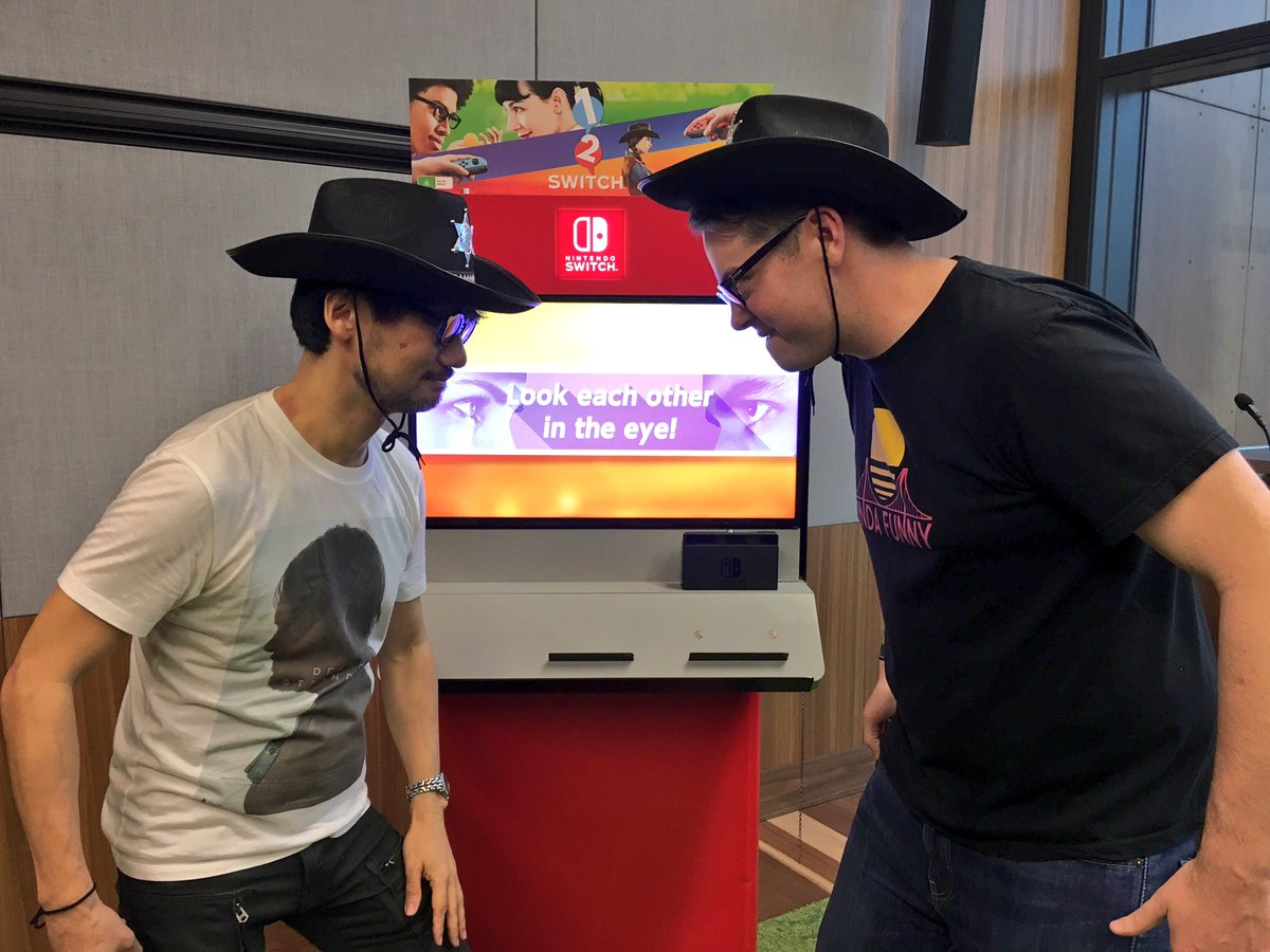 Hideo Kojima With Greg Miller