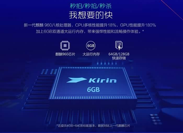 Honor V9 Processor