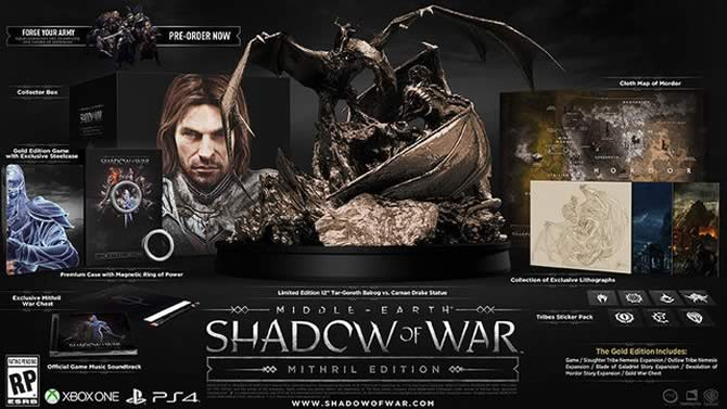 Middle Earth: Shadow of War system requirements