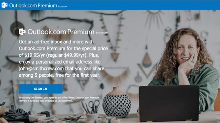 Outlook Premium