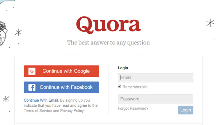 how to join anonymous quora
