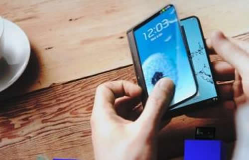samsung flexible display phone