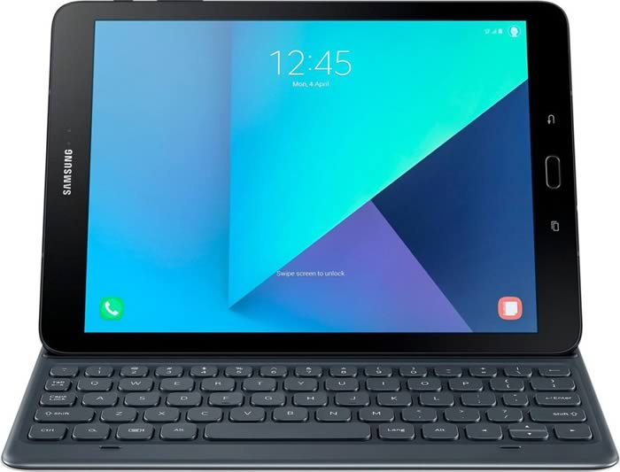 Samsung Galaxy Tab S3 with keyboard
