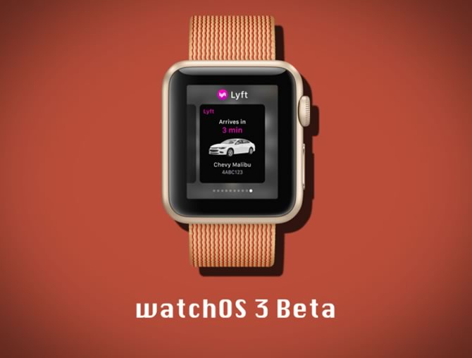 WatchOS 3.2 second beta