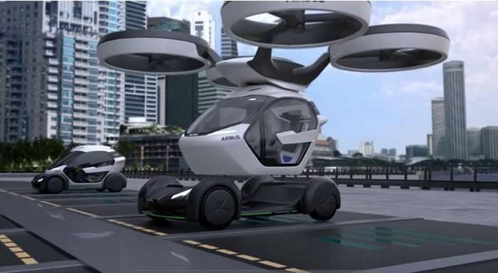 Airbus concept car