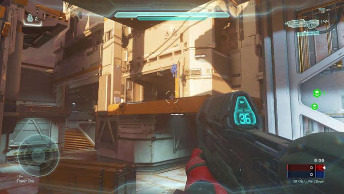 Halo5 testing