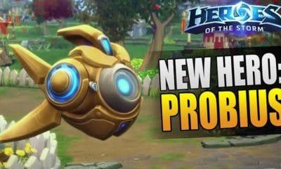 'Heroes of The Storm' hero Probius
