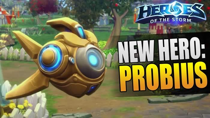 'Heroes of The Storm' hero Probius