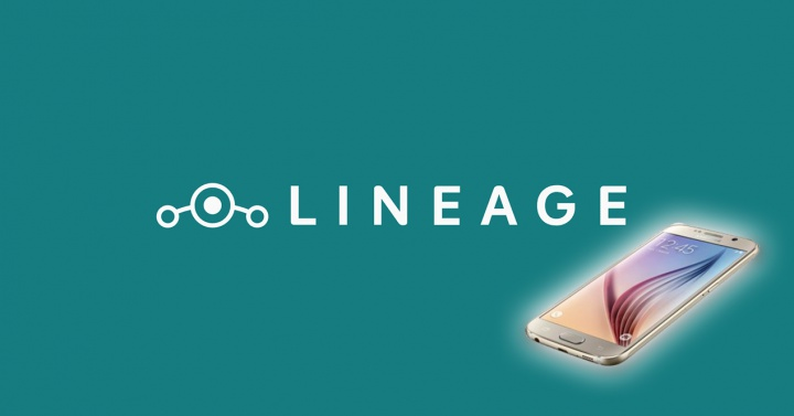 LineageOS 14.1 for Samsung Galaxy S6