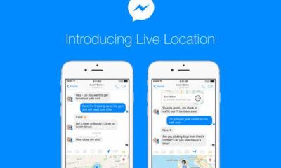 Live Location Facebook Messenger