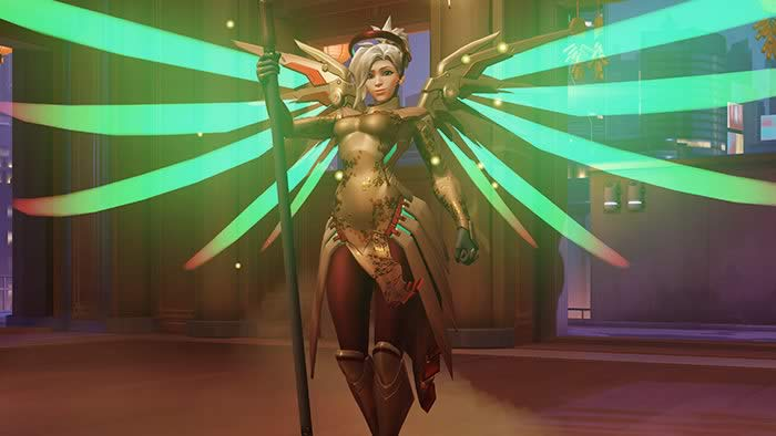 Mercy wing bug in overwatch