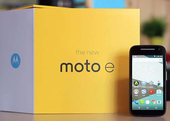 New Moto E4