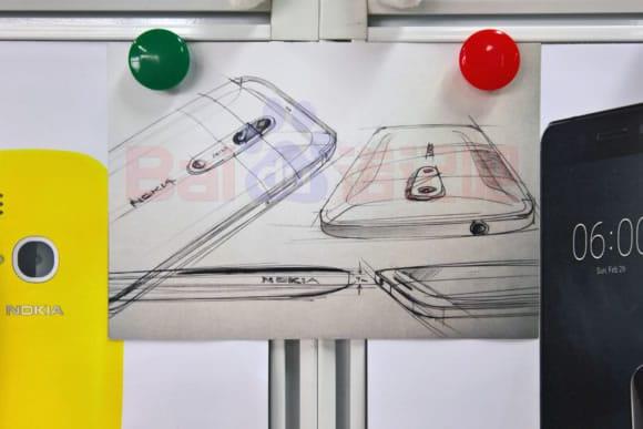 Nokia 7 Nokia 8 design