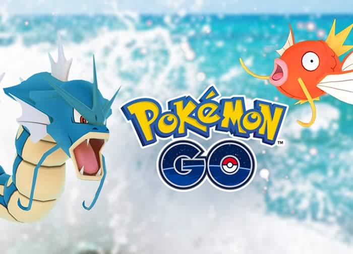 Pokemon GO Gyarados magicarp