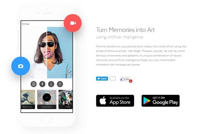 Prisma app update