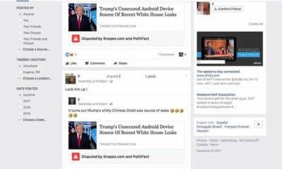 facebook fake news label