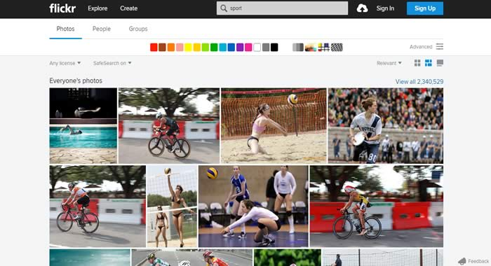 Flickr similar photos