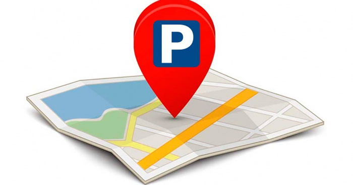 google maps parking