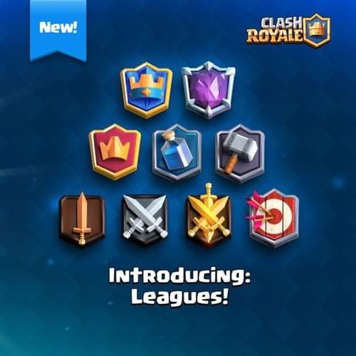 Clash Royale new leagues
