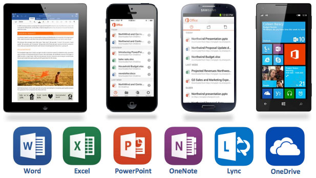 office mobile applications disappear from the windows