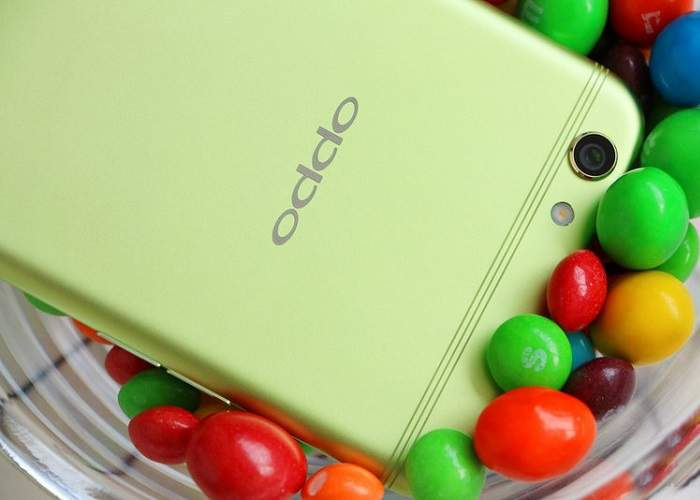Oppo R9S Green Colour