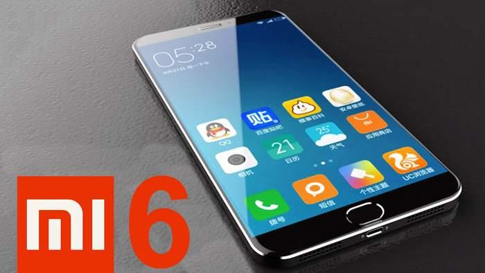 Xiaomi Mi6 smartphone