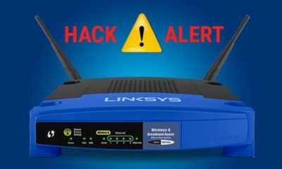 linksys wifi router hack