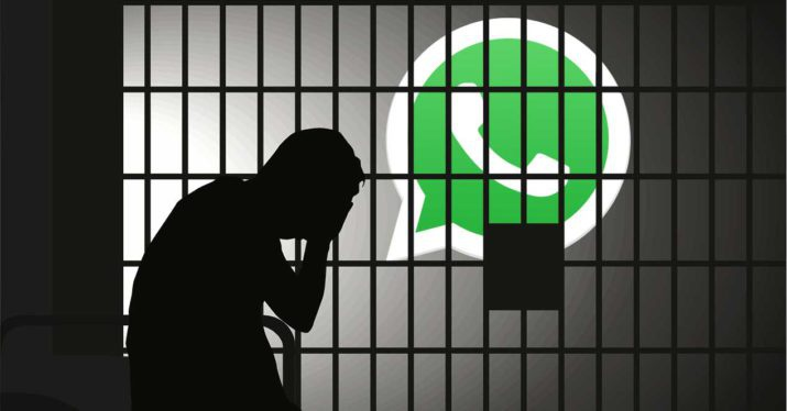 whatsapp fake new can lead to prison