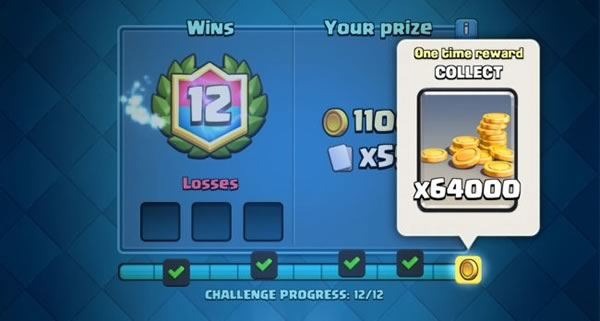 Clash royale gold