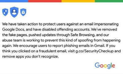 Gmail app detects scam attempts