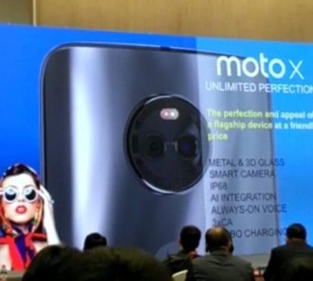 Moto X 2017 IP68