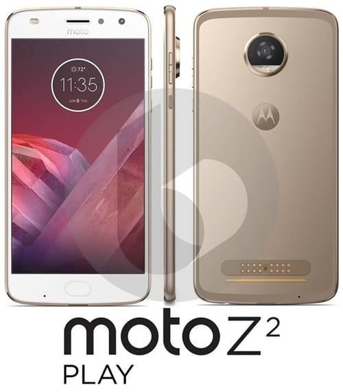 Moto Z2 Play design