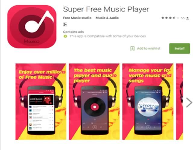 Super Free Music Player